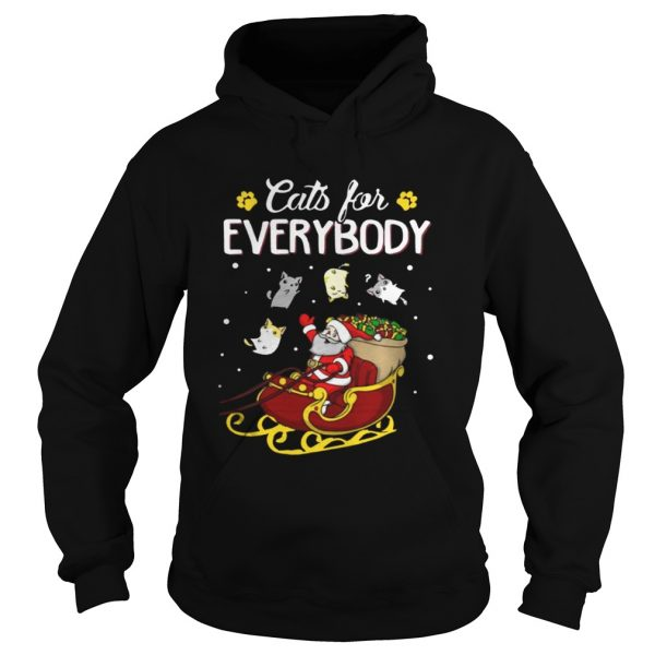 Cats For Everybody Santa's Gift Christmas Sweat hoodie