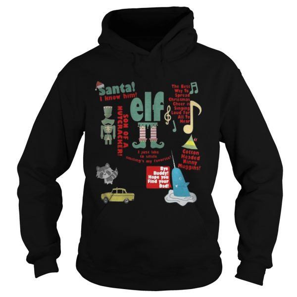 Elf – Santa I Know Him – Son Of A Nutcracker hoodie