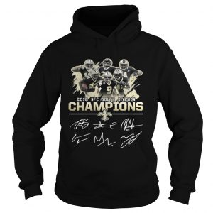 Official 2018 NFC south division champions New Orleans Saints shirt Hoodie