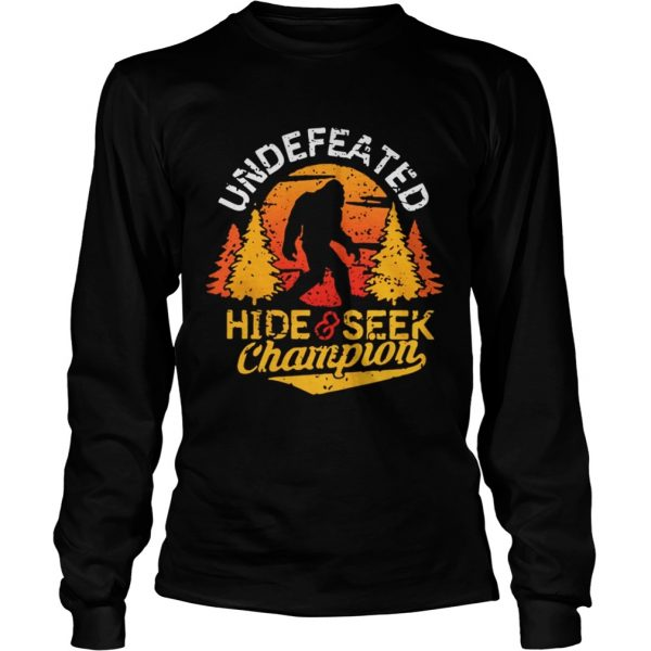 Undefeated hide and seek champion shirt Longsleeve Tee Unisex