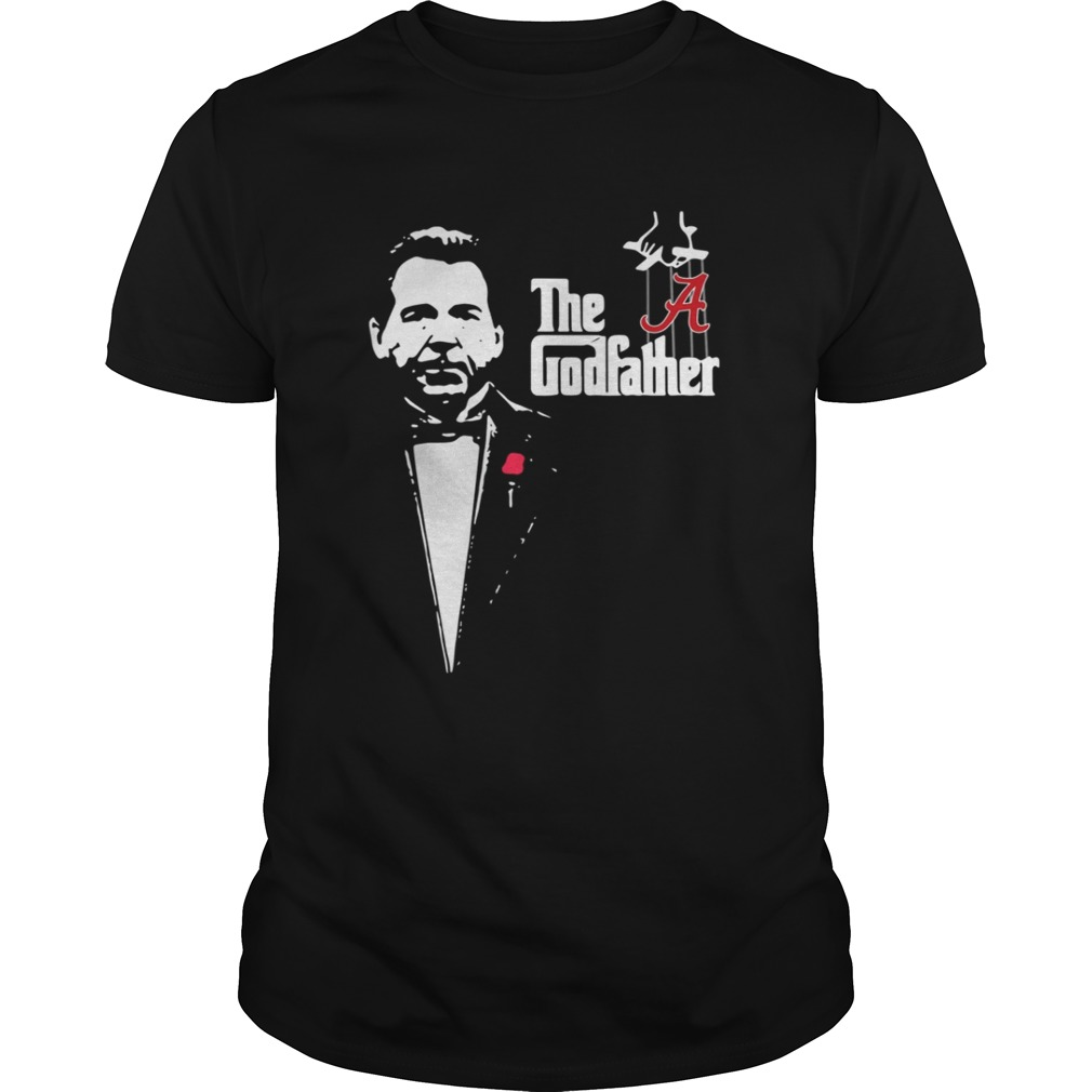 Nick Saban the godfather Alabama Crimson Tide shirt