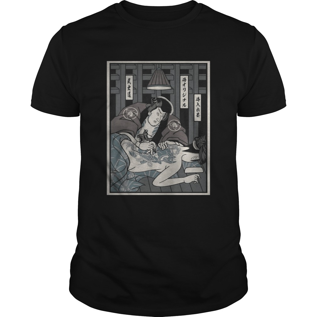 Tattoo Samurai shirt