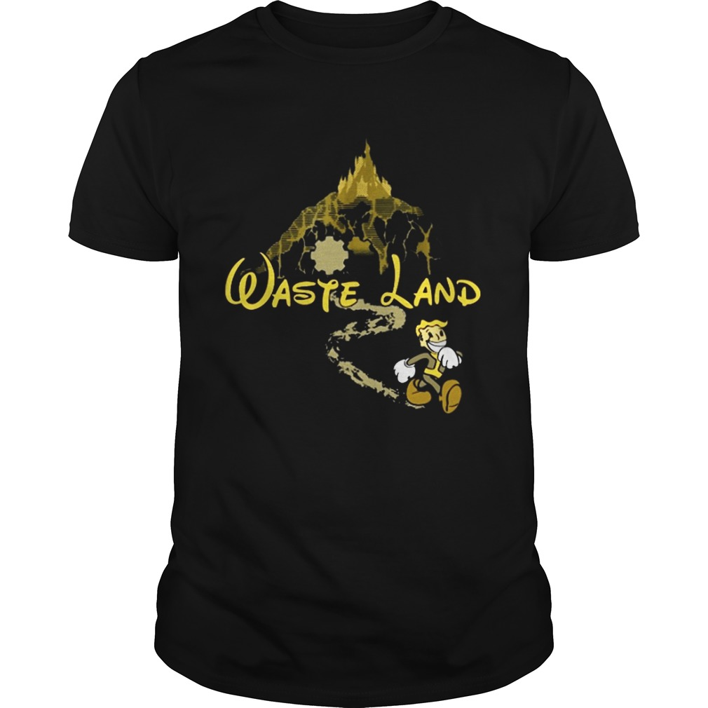 West Virginia Wasteland Disney shirt