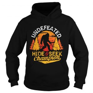 Undefeated hide and seek champion shirt Ladies V-Neck