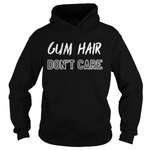 Gym hair dont care shirt Ladies V-Neck