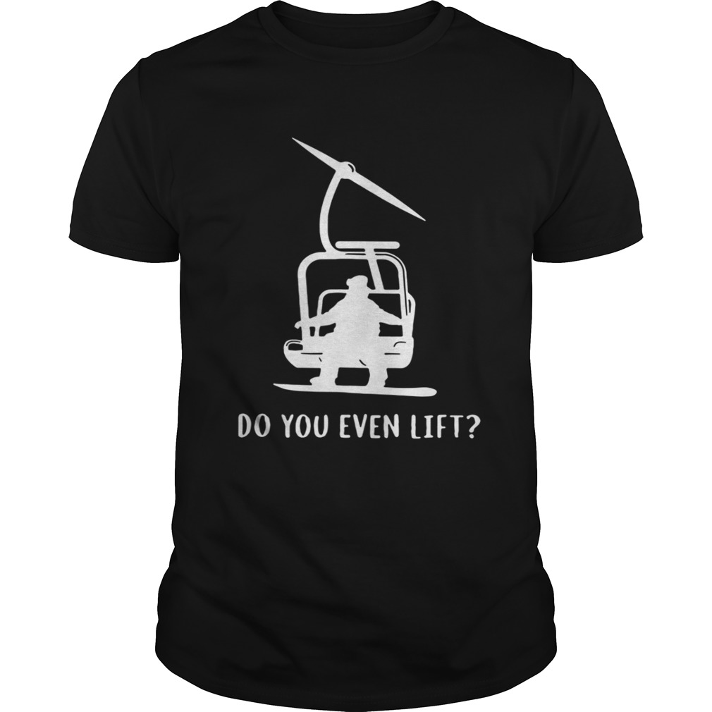 Helicopter Do you even lift shirt