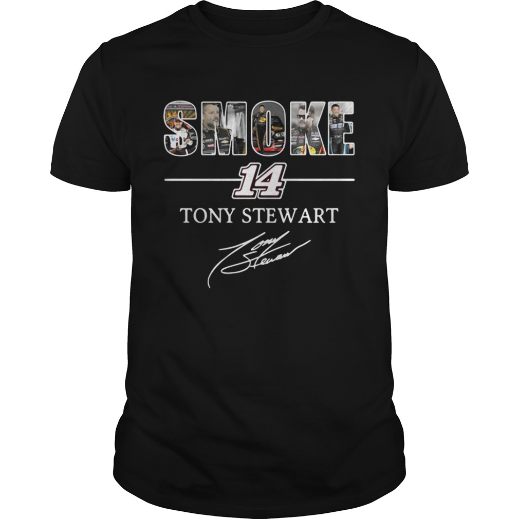 Smoke 14 Tony Stewart shirt