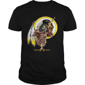 Redskinsman Aquaman And Redskins Football Team TShirt Shirt