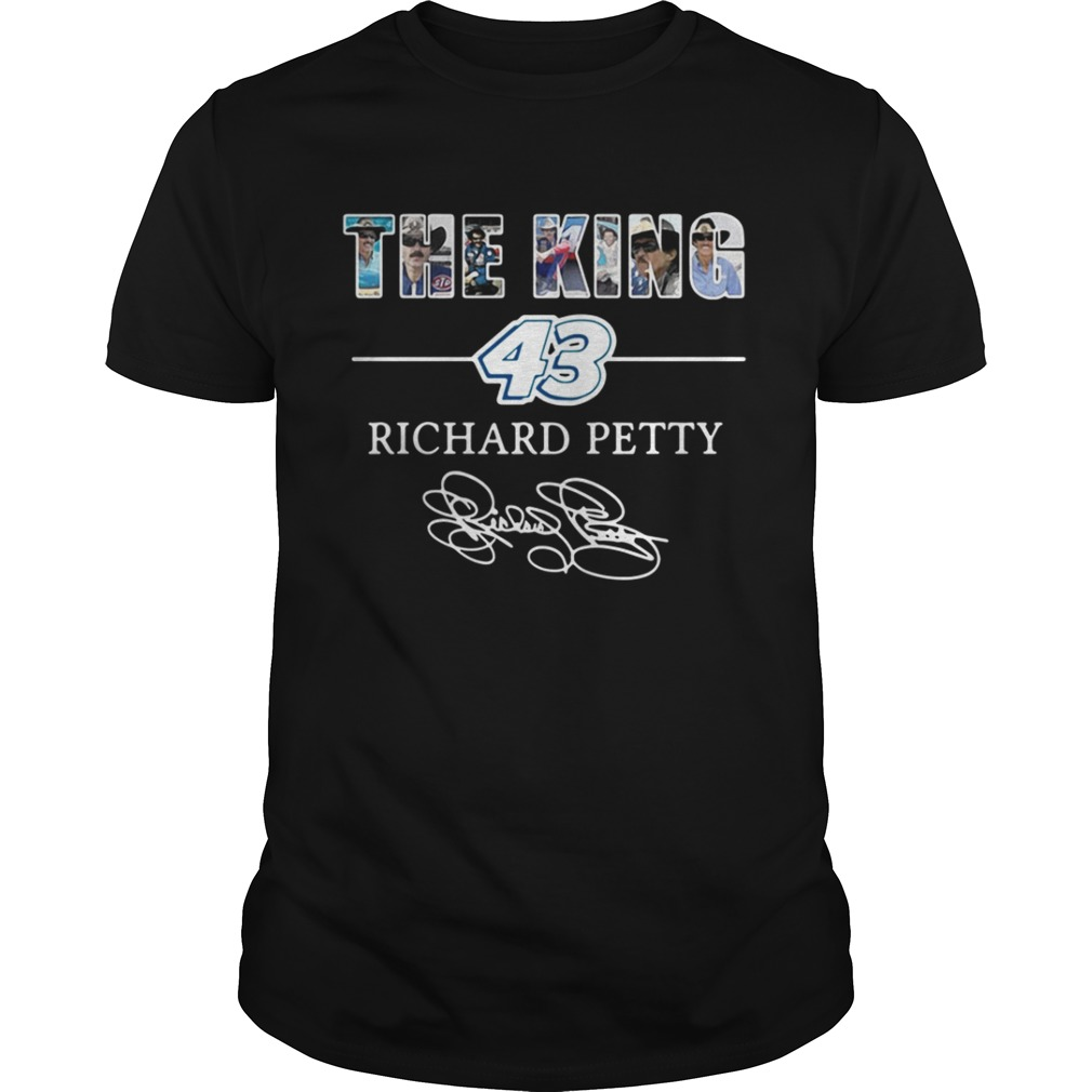 The king 43 Richard Petty shirt