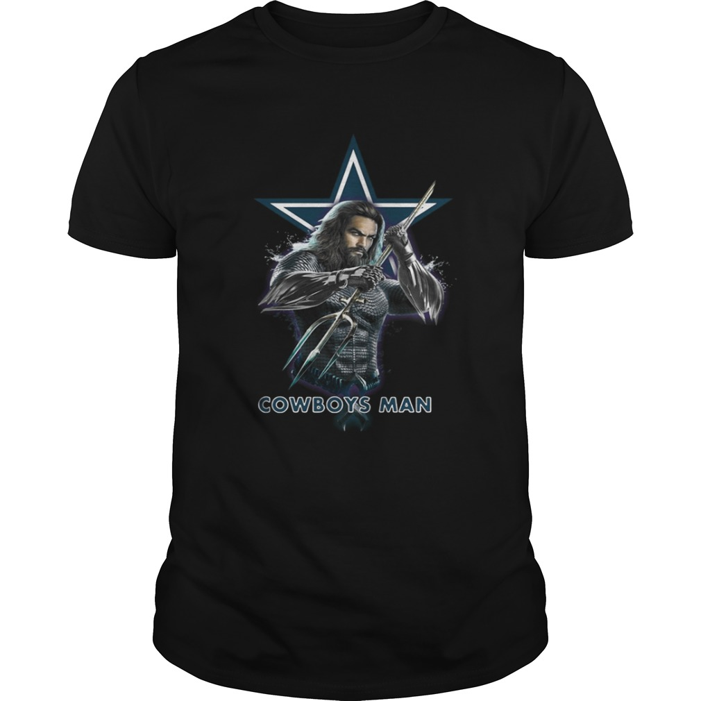 Aquaman Dallas Cowboys Man shirt