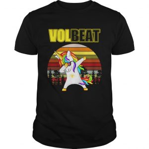 Unicorn dabbing Volbeat retro shirt Shirt