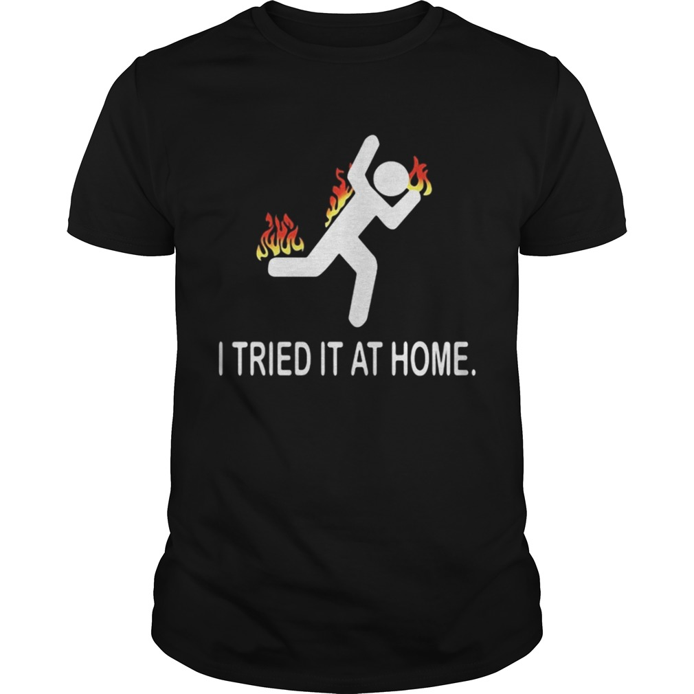 Pompeii fun run I tried it at home shirt