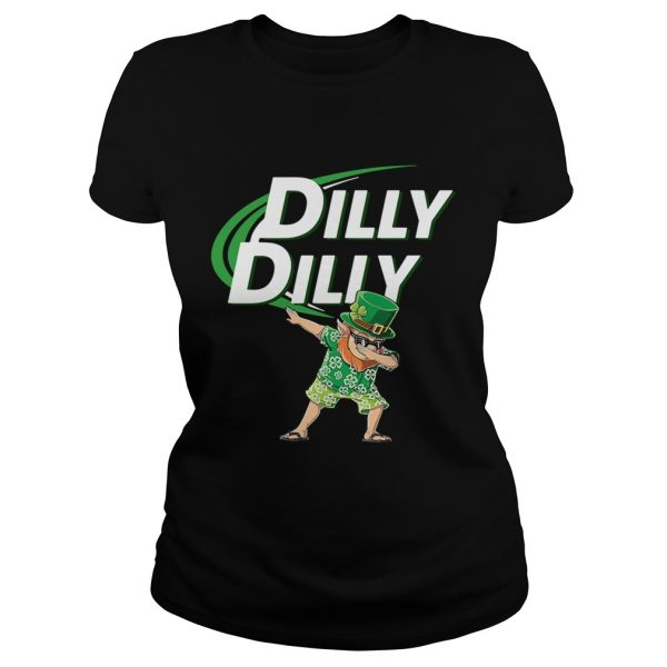 St Patricks dabbing dilly dilly shirt Classic Ladies Tee