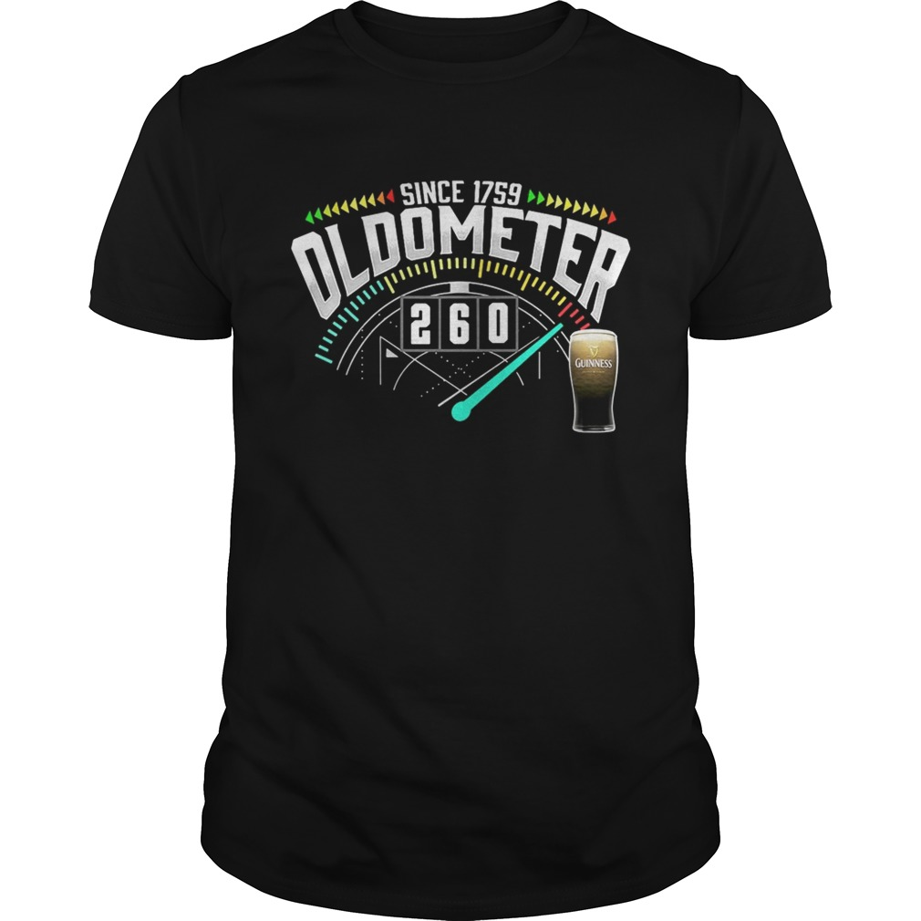 Beer Since 1759 Oldometer 260 Kmh Shirt