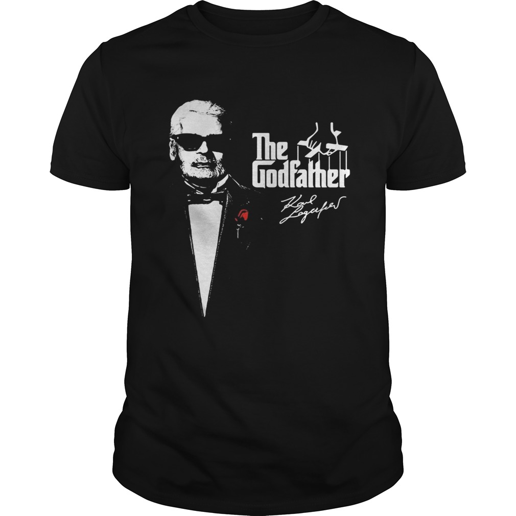 The godfather Karl Lagerfeld 1933 2019 shirt