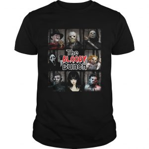 The Bloody Bunch Horror Shirt Shirt
