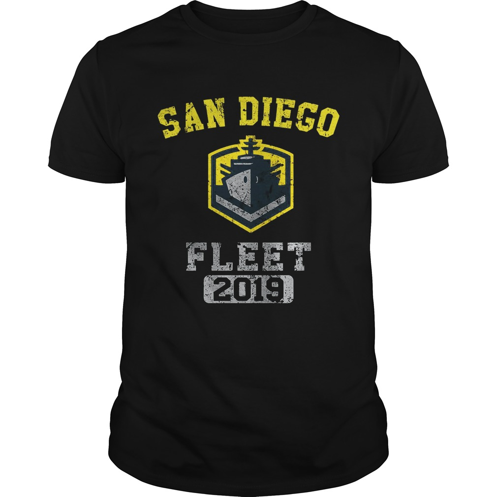 San Diego fleet 2019 shirt