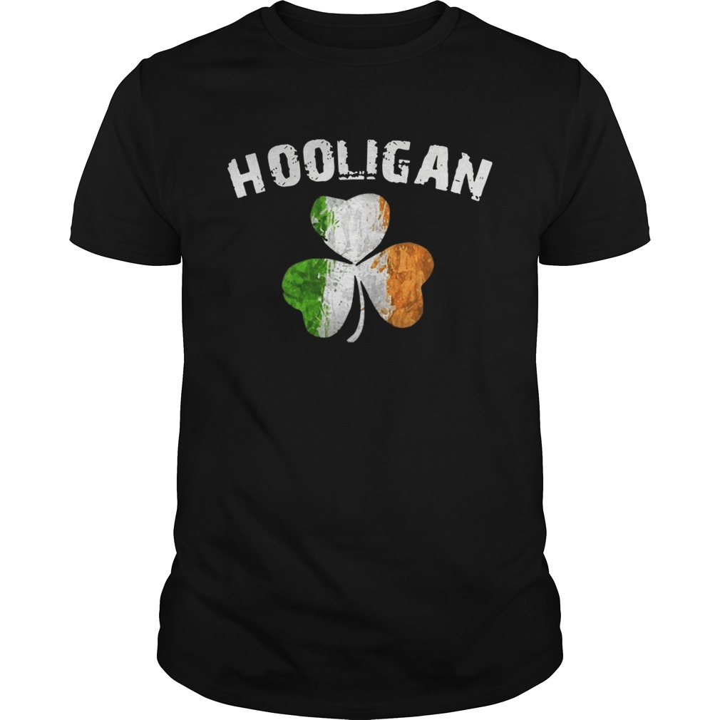 Hooligan Irish Patrick day shirt