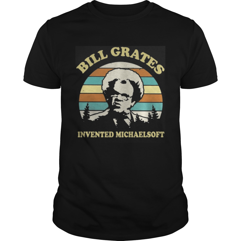 Check It Out Dr Steve Brule Bill Grates invented michaelsoft retro shirt