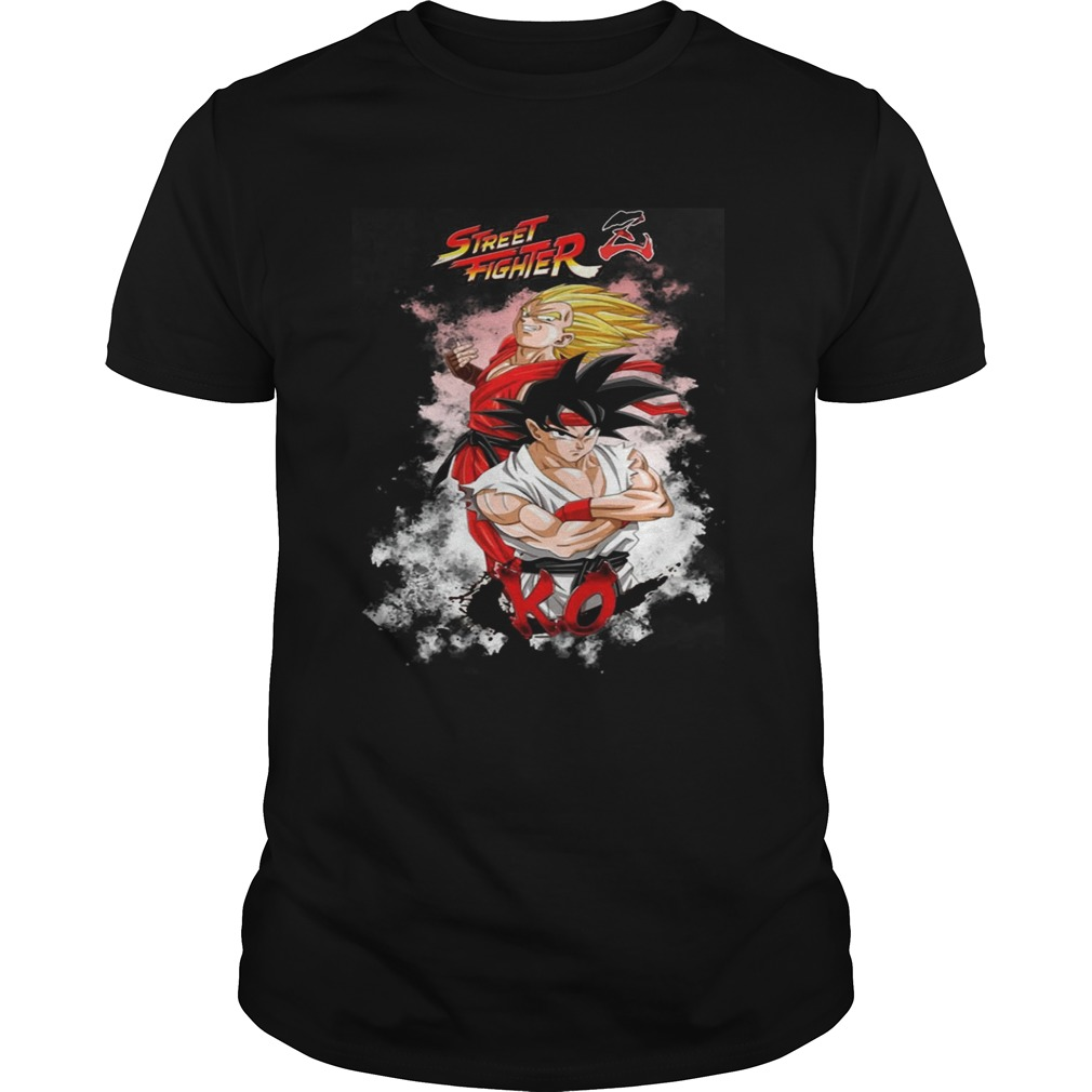 Street Fighter Z KO Dragon Ball Z Shirt