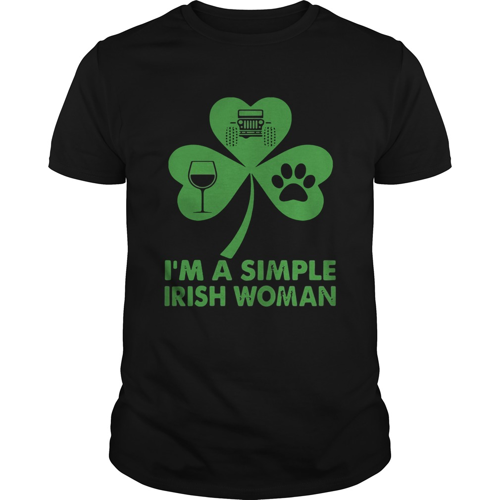Im A Simple Irish Woman Shirt