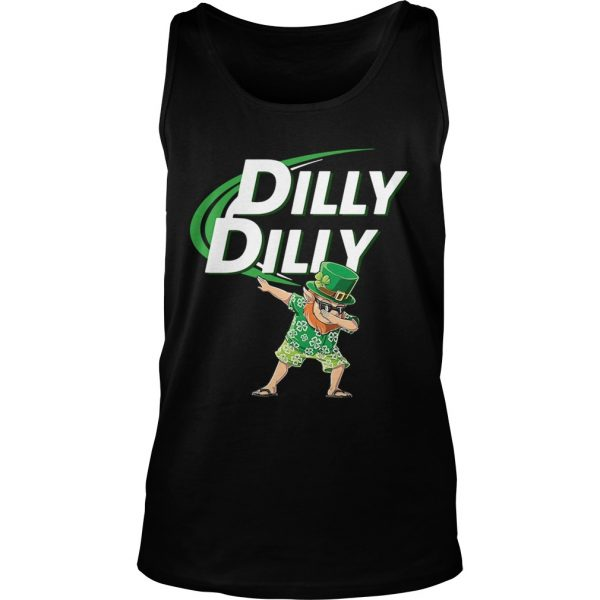 St Patricks dabbing dilly dilly shirt TankTop
