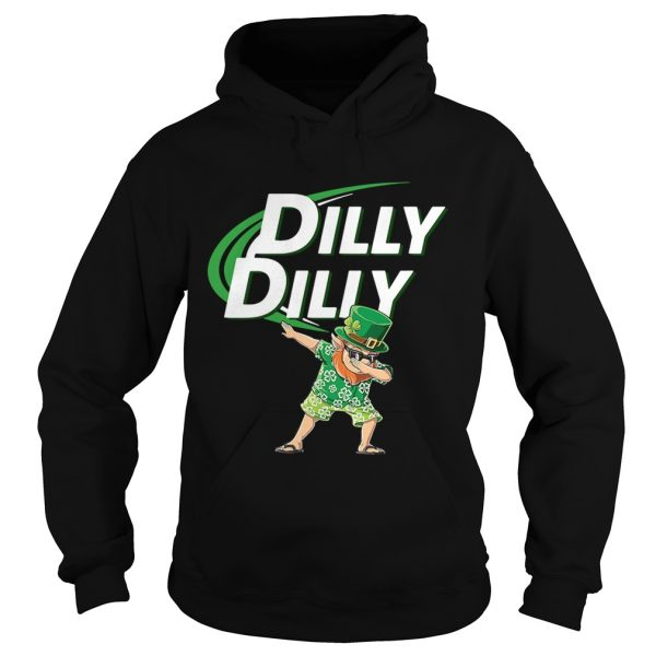 St Patricks dabbing dilly dilly shirt Ladies V-Neck