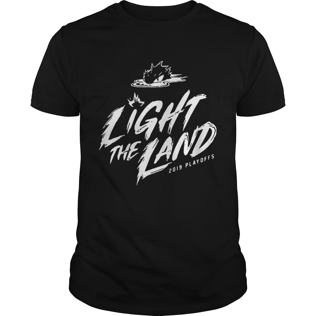 Cleveland Cavaliers 2019 Light The Land Playoffs tshirt