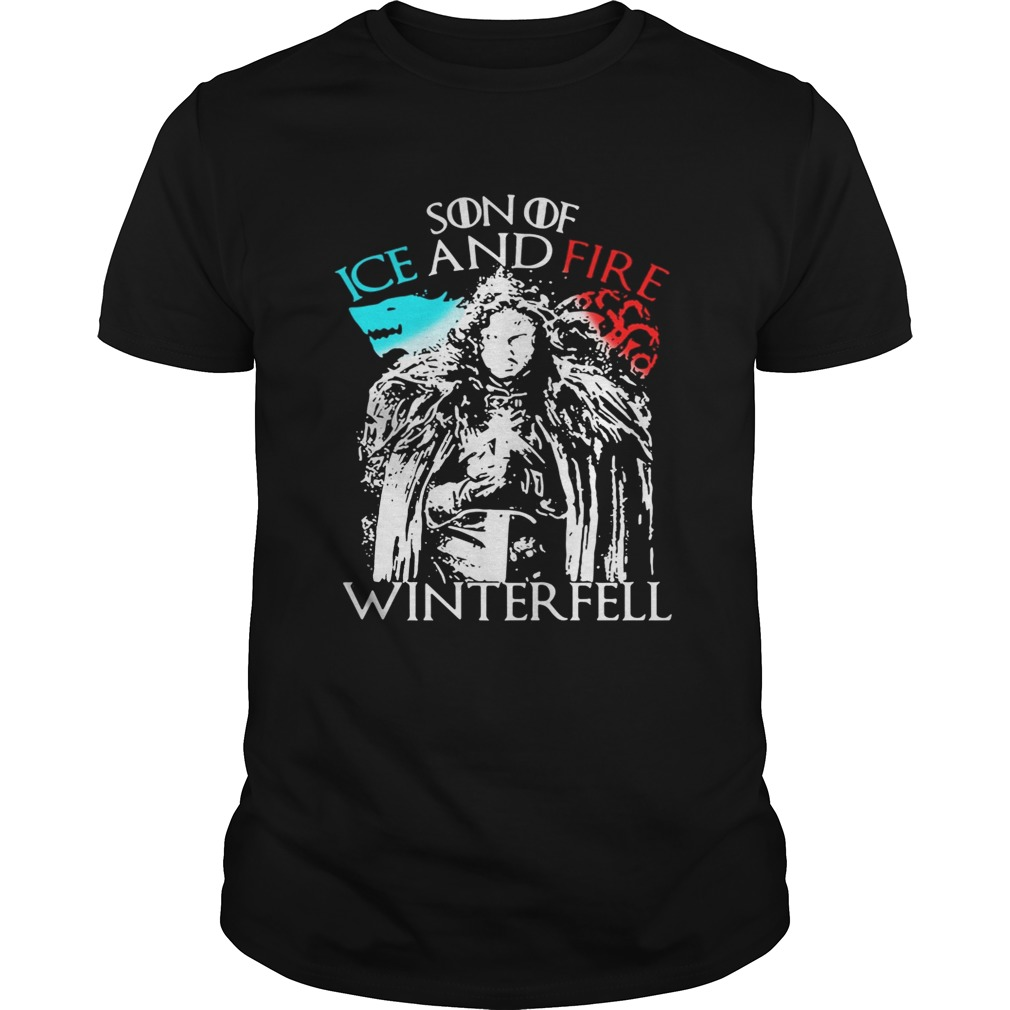 Game of Thrones Son of ice and fire winterfell shirt