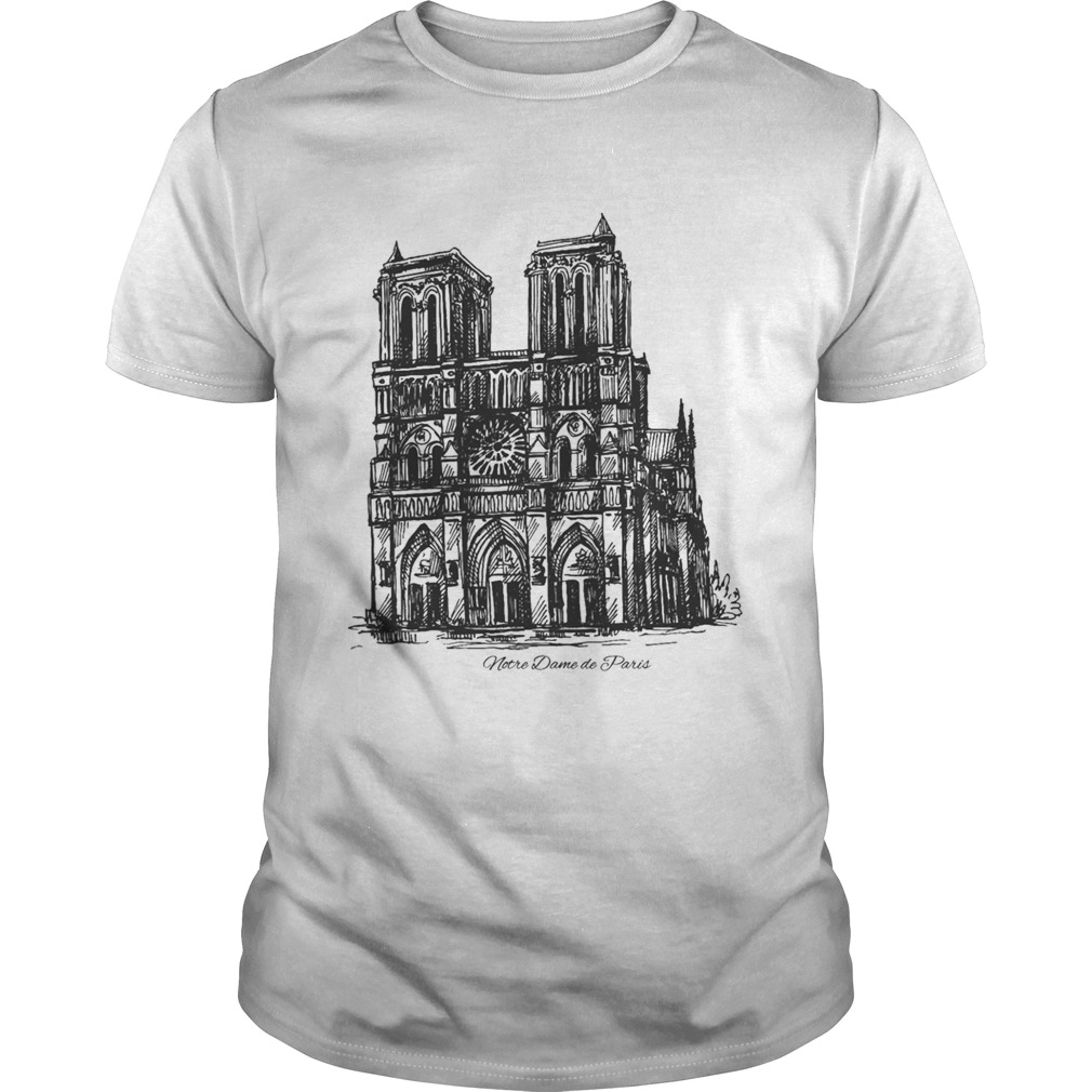 Pray For Notre-Dame Cathedral shirt