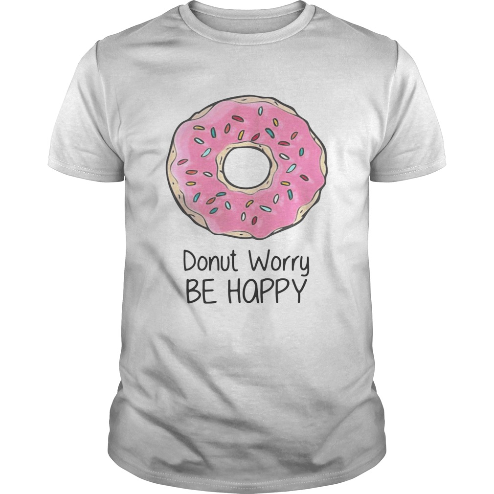 Zoe Laverne Adjusting Her donut worry be happy shirt