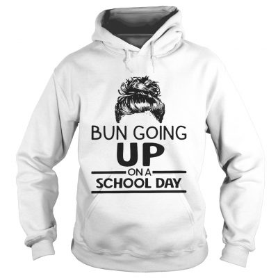 Bun going up on a school day girl hoodie