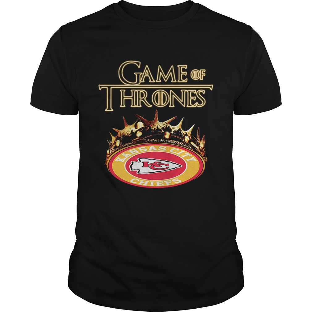 Game of Thrones Kansas City Chiefs mashup shirt