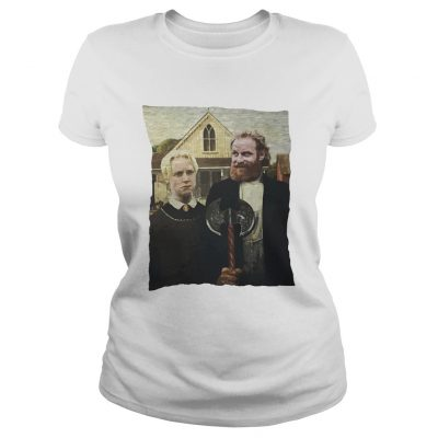 Game of Thrones Tormund and Brienne Westeros Gothic ladies tee