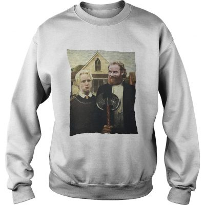 Game of Thrones Tormund and Brienne Westeros Gothic sweatshirt