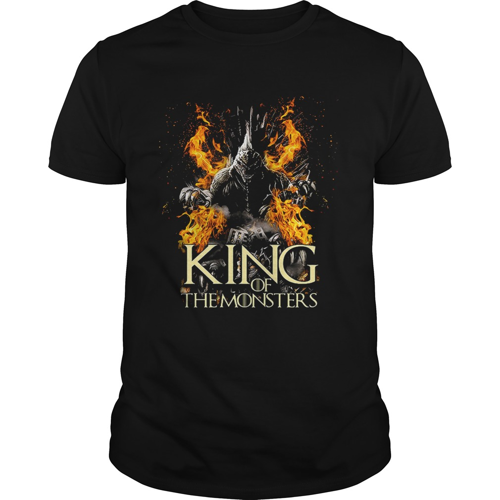 Godzilla King of the monster Game of Thrones shirt