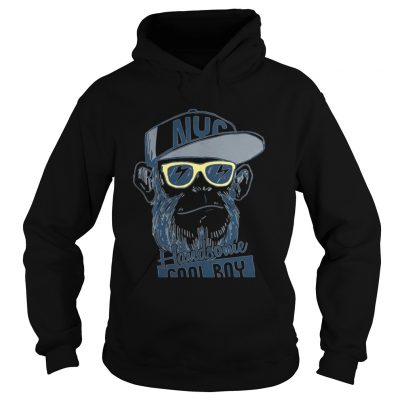 Monkey boy NYC Handsome cool boy hoodie