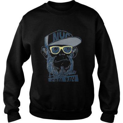 Monkey boy NYC Handsome cool boy sweatshirt