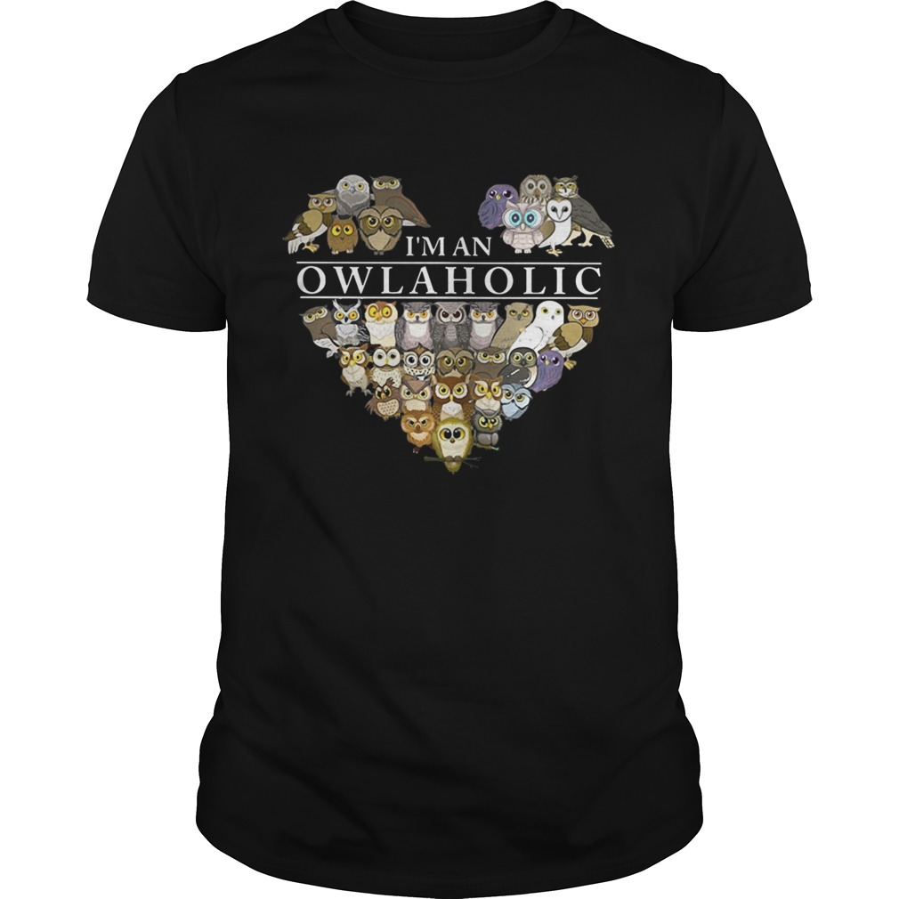 Official I'm an Owl aholic shirt