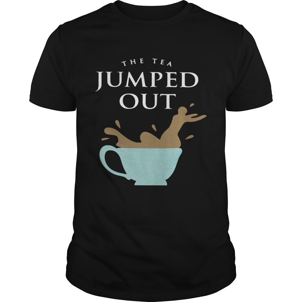 Ricky Dillon the tea jumped out shirt