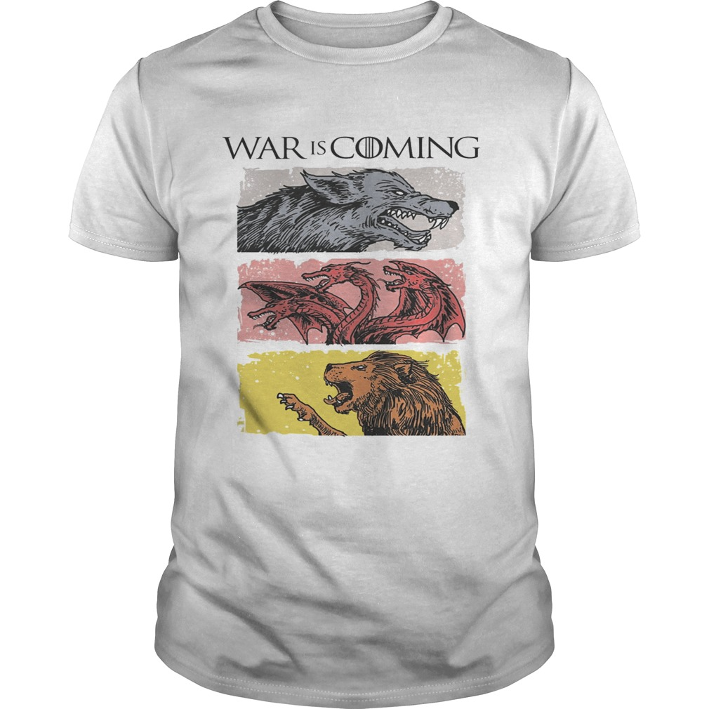 War is coming sublimation dryfit Game of Thrones shirt