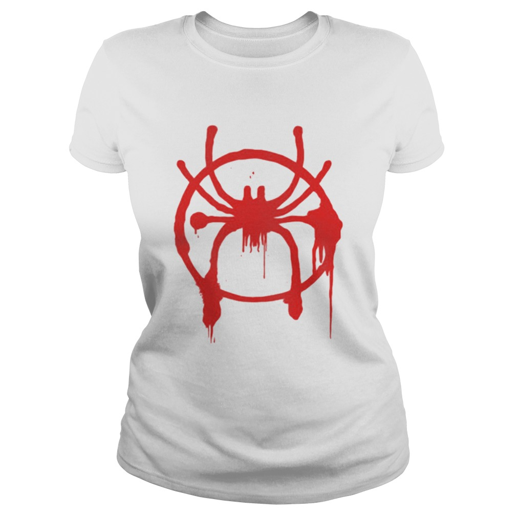 Awesome Blood Spider Spiderman Far From Home Shirt Classic Ladies