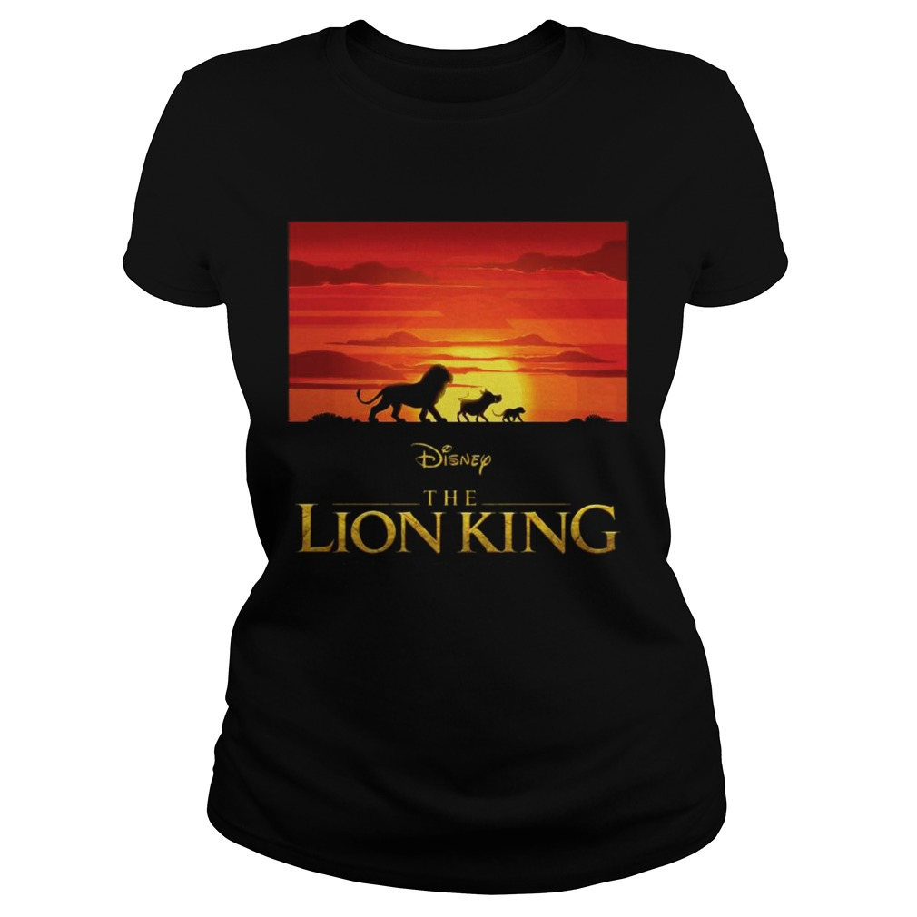 Disney the Lion king Simba Pumbaa and Timon Classic Ladies