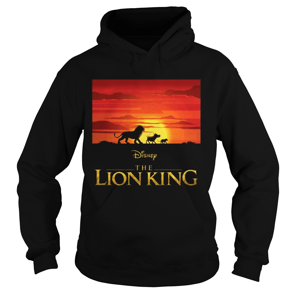 Disney the Lion king Simba Pumbaa and Timon Hoodie