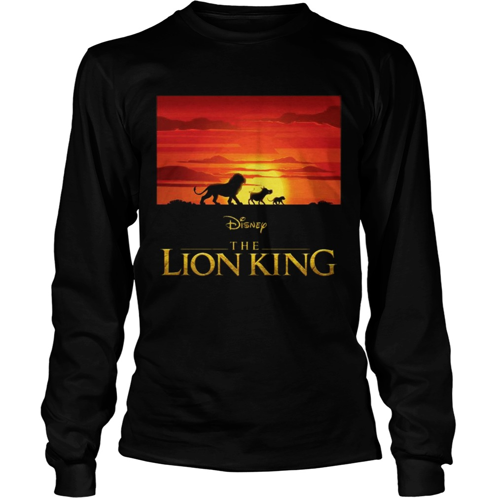 Disney the Lion king Simba Pumbaa and Timon LongSleeve