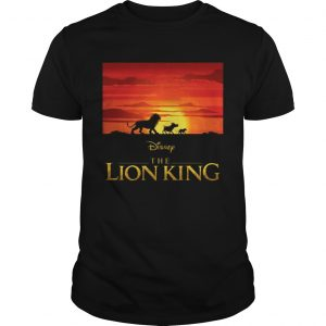 Disney the Lion king Simba Pumbaa and Timon shirt