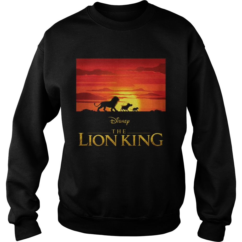 Disney the Lion king Simba Pumbaa and Timon Sweatshirt