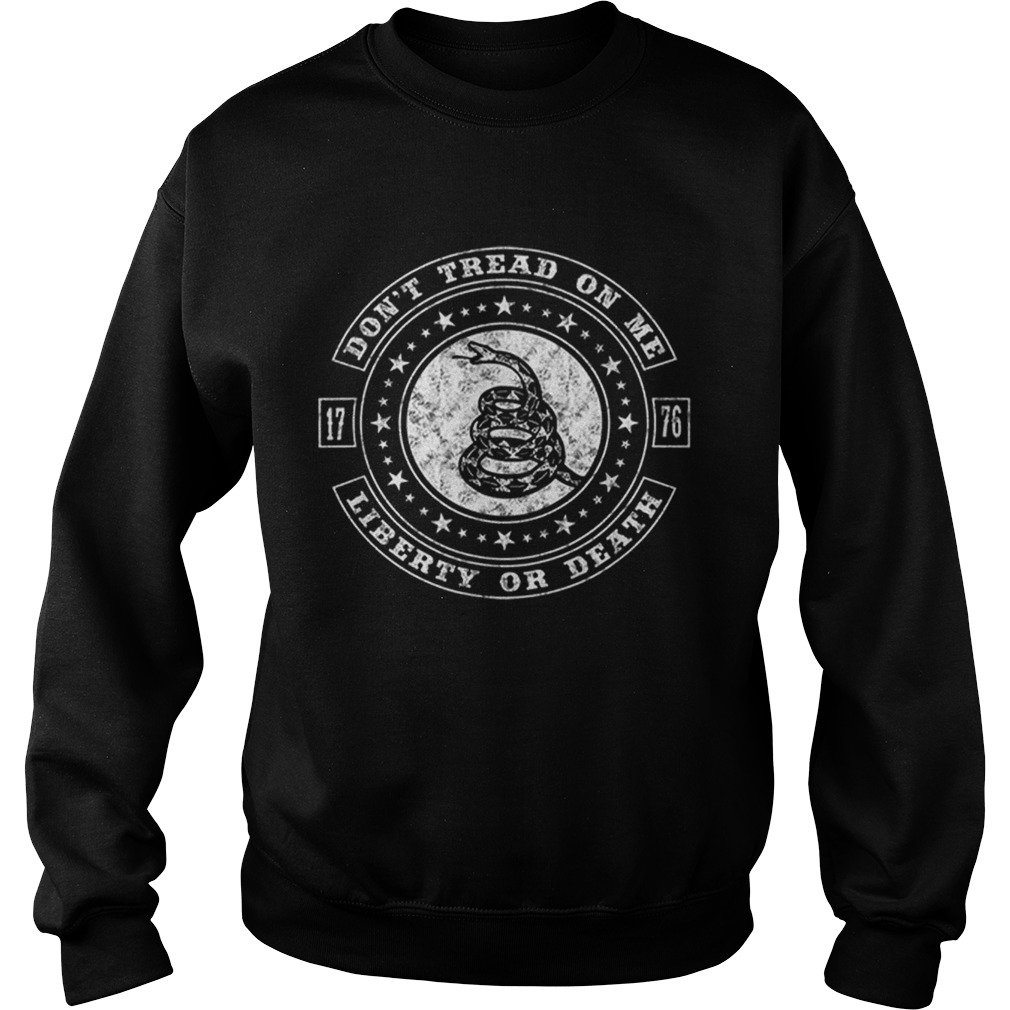Dont Tread On Usa Flag Independence Day Sweatshirt