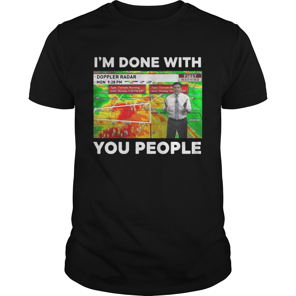 Jamie Simpson Im done with you people shirt