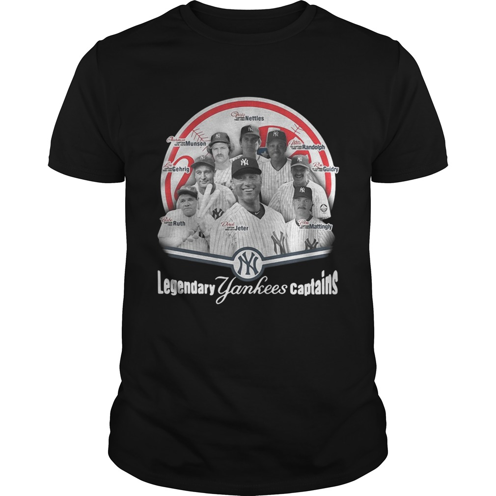 Legendary New York Yankees captains shirt